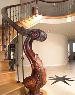 Изготовление деревянных лестниц на