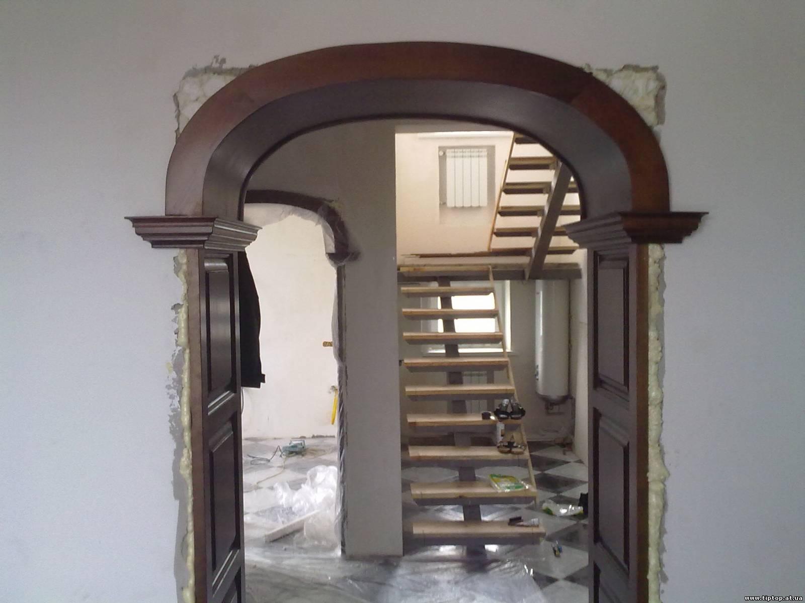 Комнатные арки фото